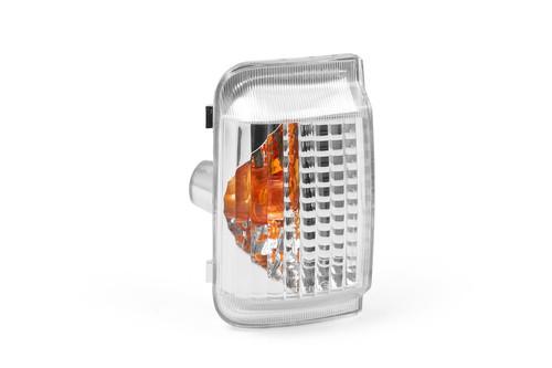 Mirror indicator left orange Peugeot Boxer 06-