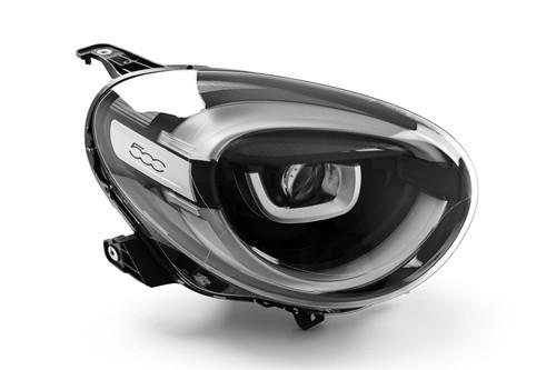 Headlight right LED Fiat 500X 19-