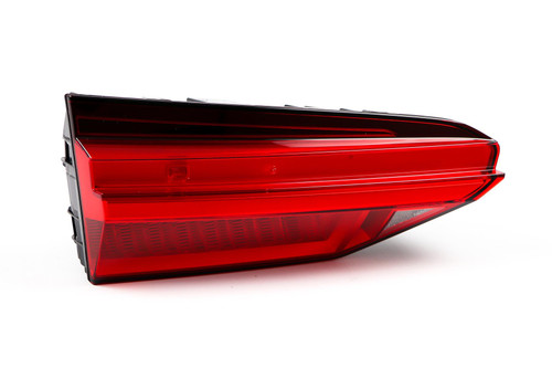 Rear light left inner LED chrome trim  Audi A6 19- Saloon Estate
