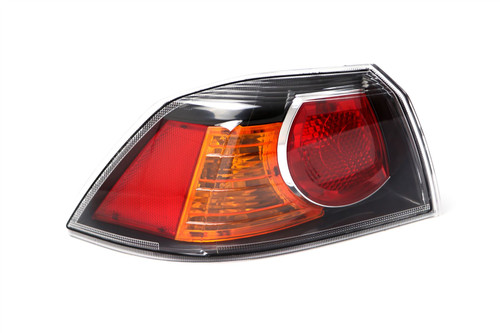 Rear light left black Mitsubishi Lancer 10- Saloon