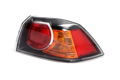 Rear light right black Mitsubishi Lancer 10- Saloon