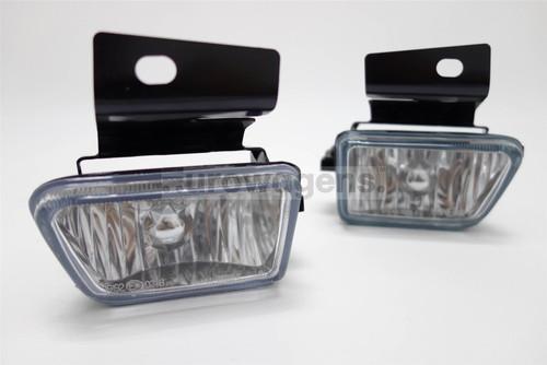 Front fog lights set crystal clear VW Golf MK2 84-92