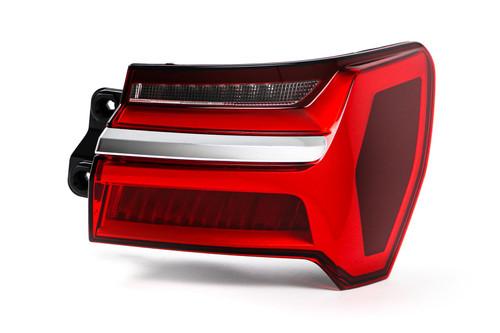 Rear light right LED chrome trim Audi A6 19- Saloon Estate
