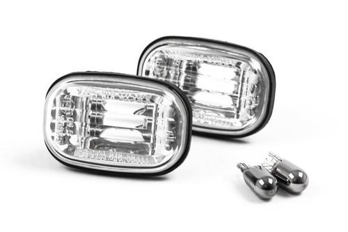 Side indicators set chrome with bulbs Lexus RX 98-03