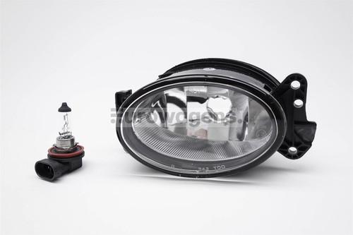 Front fog light left with bulb Mercedes-Benz M Class W164 06-11