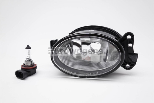 Front fog light left with bulb Mercedes-Benz M Class W164 06-11
