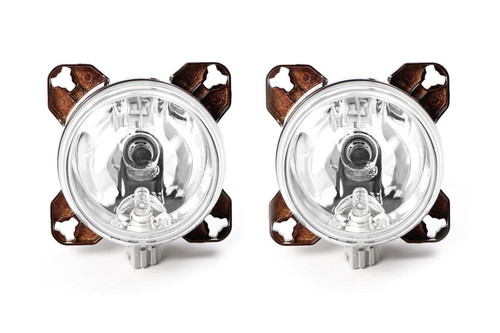 Hella 90mm main beam sidelight H7 headlight set with bulb and fixing kit Morette Subaru Impreza Ford Focus MK1