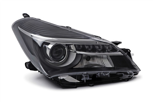 Headlight right LED DRL Toyota Yaris 14-