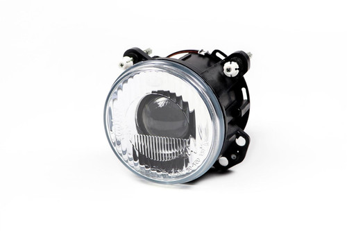 Hella 120mm dipped Beam Headlight with fixing kit Morette Fiat Punto MK1