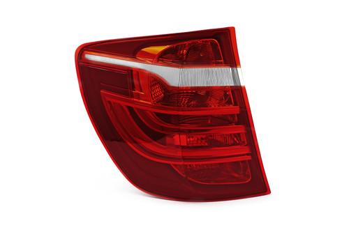 Rear light left dark red BMW X3 F25 11-17