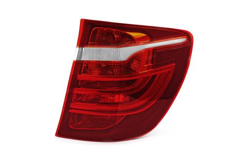 Rear light right dark red BMW X3 F25 11-17