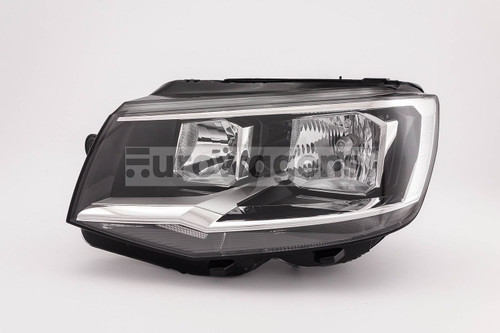 Headlight left twin reflector VW Caravelle 15-19