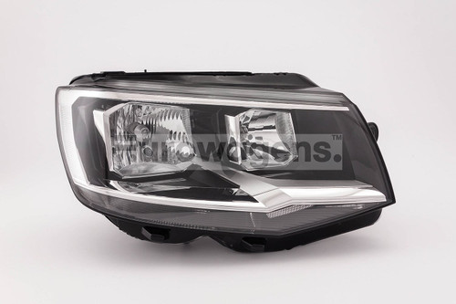 Headlight right twin reflector VW Caravelle 15-19
