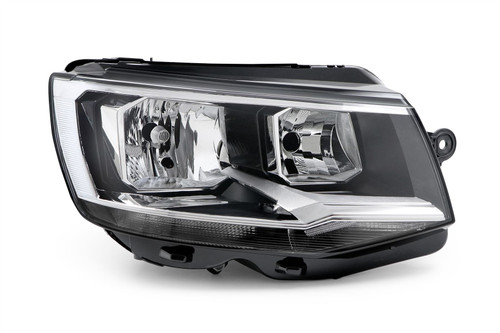 Headlight twin reflector right VW Caravelle  15-19