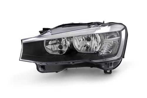 Headlight left BMW X3 F25 15-17