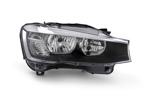 Headlight right BMW X3 F25 15-17