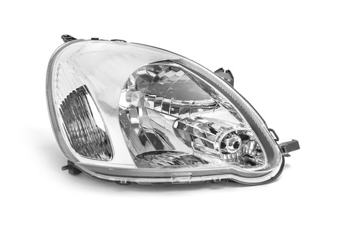 Headlight right chrome Toyota Yaris MK1 03-05
