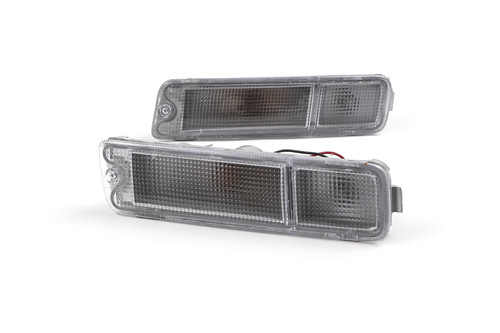 Front indicator set clear Mitsubishi L200 96-06