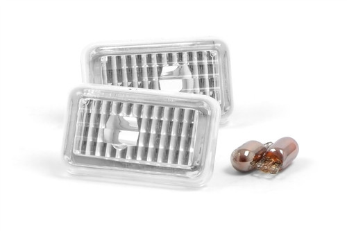 Side indicator set crystal clear VW Polo 91-94