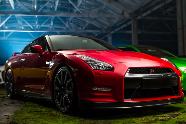 Nissan GTR Headlights