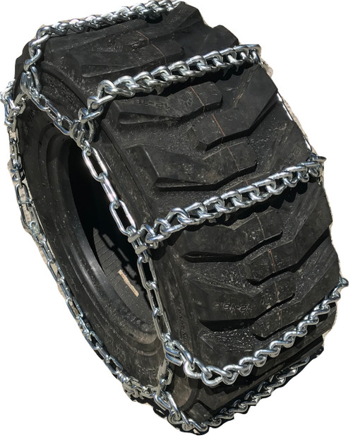 15.5 38 15.5-38  Ladder Tractor Tire Chains Set Of 2