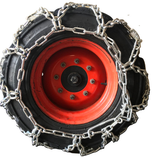 10-16.5, 10 16.5 Duo Grip Tractor Tire Chains Set Of 2