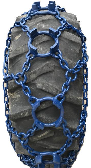 Br16.9X30 5/8 Big Ring Skidder Chains Boron Alloy 10B21 Steel.