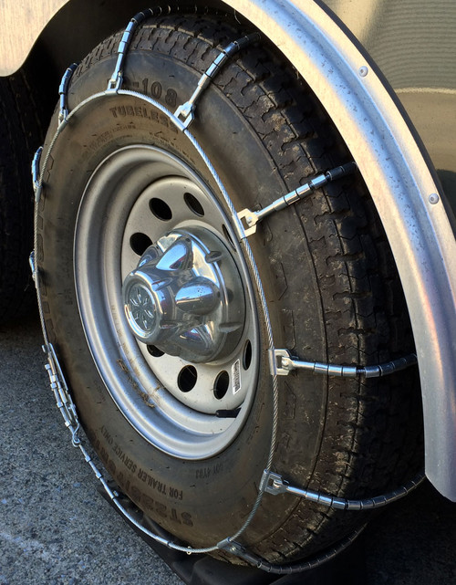 TireChain.com 255//70R16LT 255//70 16LT TUV Diamond Tire Chains Set of 2
