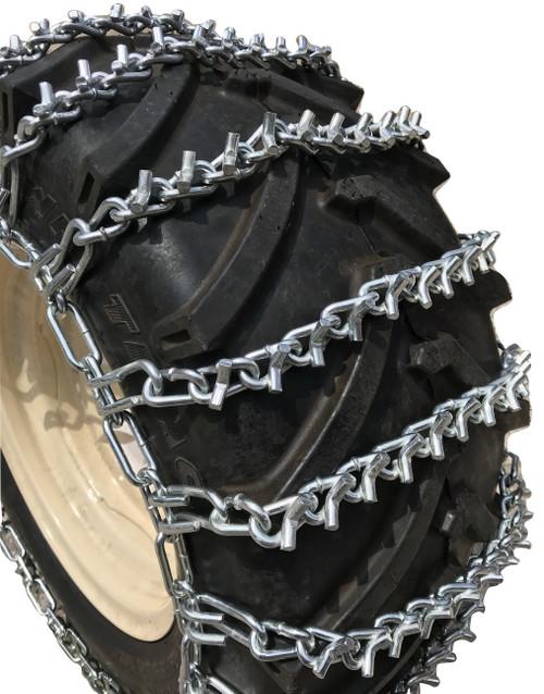 3.50 X 6, 3.50  6 Heavy Duty V-Bar Tire Chains Set Of 2