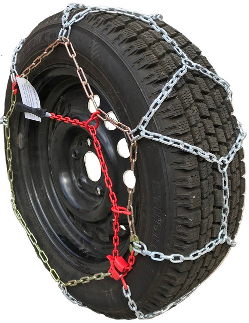 Compatible With Audi A4 Cabriolet 2009 215/55R16 Diamond Tire Chains