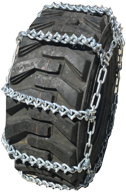 Compatible With Mahindra 5555 Ag R1 Front 9.5X24 V-Bar Tire Chains