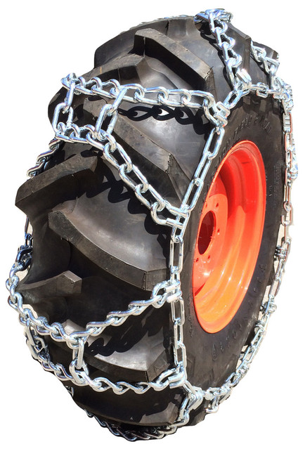 10-16.5, 10 16.5 Economy Duo Grip Tractor Tire Chains Set Of 2