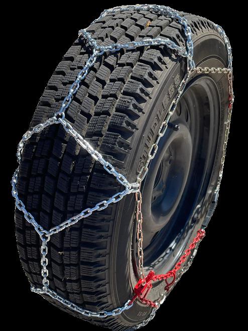 Ultra-Low Profile Diamond Tire Chains P185/70R14 P185/70 14 Set Of 2