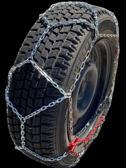 Ultra-Low Profile Diamond Tire Chains P205/70R13 P205/70 13 Set Of 2