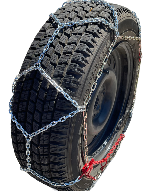 Ultra-Low Profile Diamond Tire Chains 185R14 185 14 Set Of 2