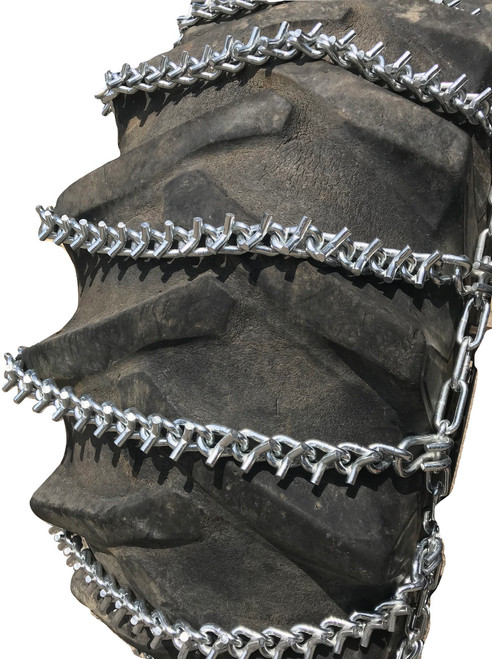 V-Bar Ladder 20.8-38 20.8 38 Tractor Tire Chains