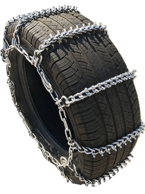 33X10.50 15 Extra Heavy Duty V-Bar Tire Chains TireChain.com V-Bar 33X10.50-15