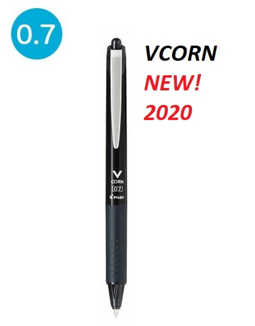 Pilot VCORN retractable gel pen 0.7mm