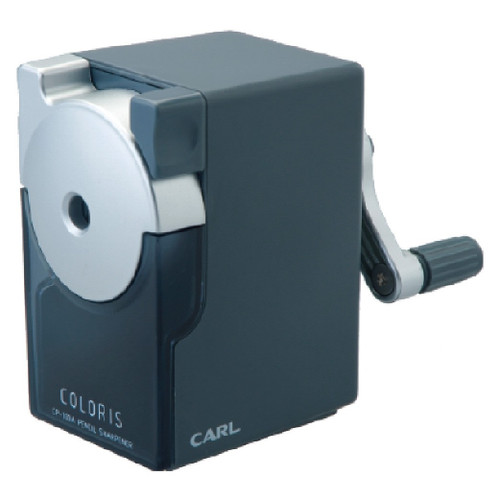 CARL CP100A Colouris Pencil Sharpener with 2 stage sharpeness adjuster