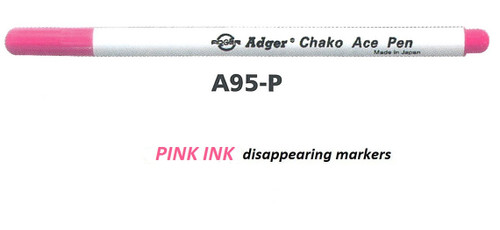 ADGER CHAKO ACE Disappearing Marker AP95 Pink