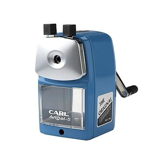 Carl A5 Angel pencil sharpener BLUE