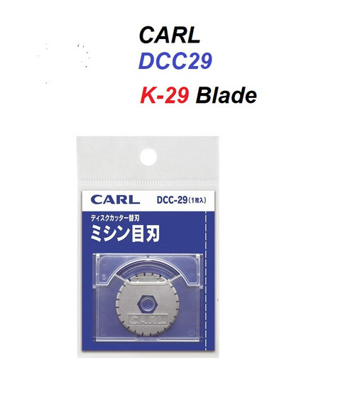 Carl K29 Perforation Blade Replacement (DCC-29) - 1x BLADE