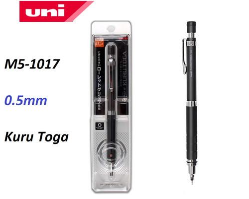Uni Kuru Toga 0.5mm Mechanical Pencil M5-1017 BLACK