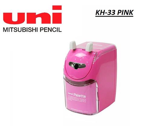 Uni Mitsubishi Palette Hand Crank Pencil Sharpener KH-33 (PINK)