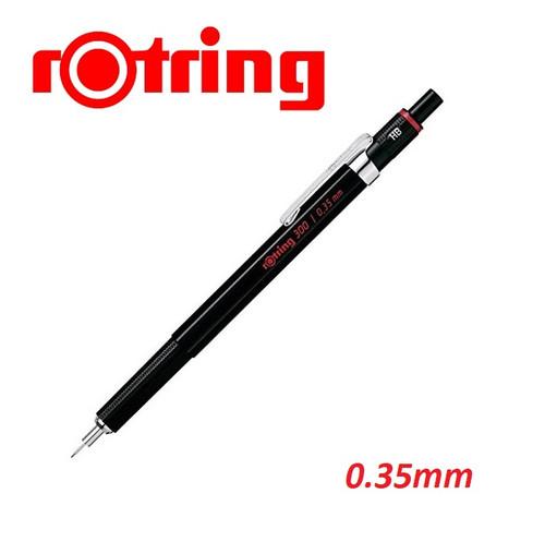 Rotring 300 Mechanical Pencil 0.35mm Black Barrel