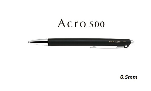 Pilot ACRO 500 BAC-50EF 0.5mm Retractable Gel ink pen