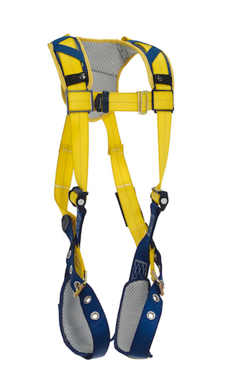 Removable Comfort Padding Tongue Buckle Leg Straps 3M DBI-SALA ExoFit XP 1110178,Back D-Ring X-Large Blue Belt with Pad and Side D-Rings
