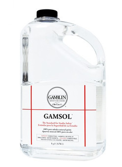 Gamblin Gamsol Gallon - Cannot Be Shipped to CO, RI, CA, CT, DE, MD, NH or UT in this Volume