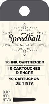 Speedball Calligraphy Fountain Pen Black Cartridge Refills