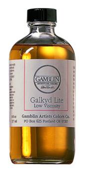 Gamblin Galkyd Lite Painting Medium 8oz
